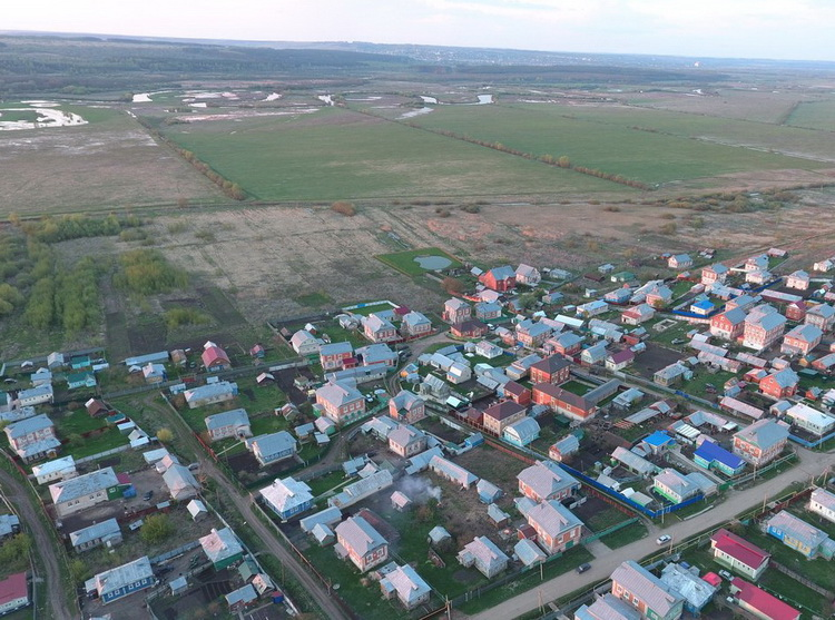 Панорама села Шубино