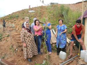 Жители села Шубино