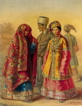 татарская свадьба,обряды и традиции