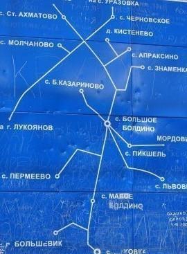 Указатель село Молчаново.Краеаедческий музей
