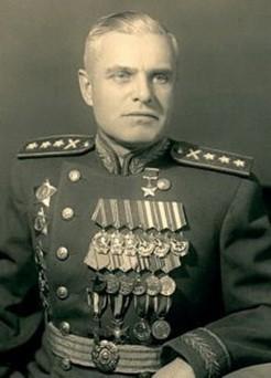 маршал артиллерии Василий Иванович Казаков