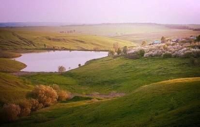 Большие Бакалды панорама
