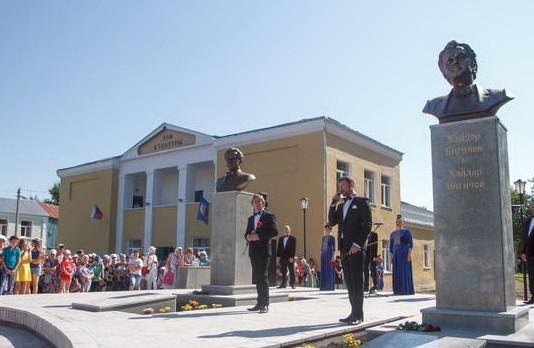 Рашид Вагапов и Хайдар Бигичев памятник