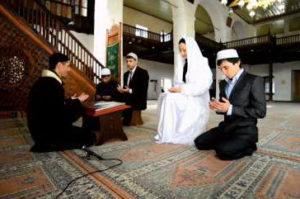 Мусульманский брак в мечети