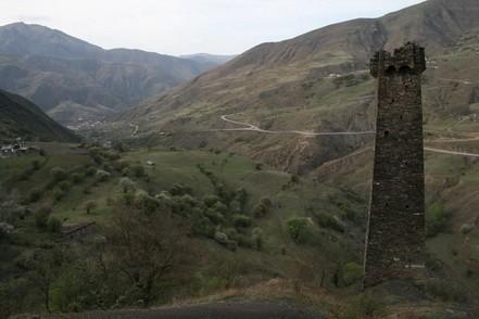 село Тазбичи Чечня