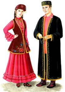 татарские костюмы