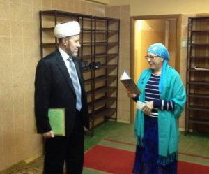 Поздравление с юбилеем имама исторической мечети