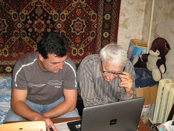 Ибрагимов Рифат и Фейзрахманов Рашид совместная работа