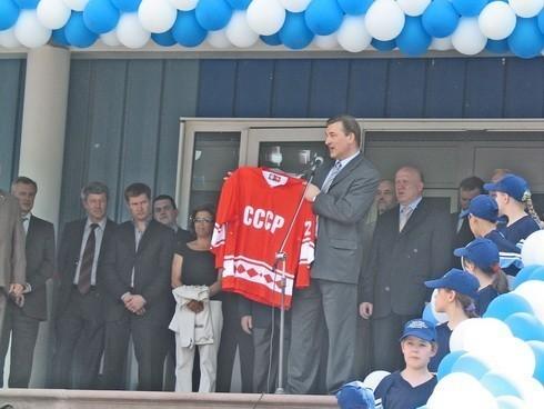 Сергач ФОК Лидер Валерий Шанцев губернатор Нижегородской области