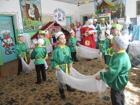 детское мероприятие Бишек туе в селе Пашатово