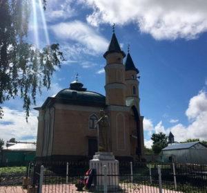 мечеть Бергэлек село Грибаново