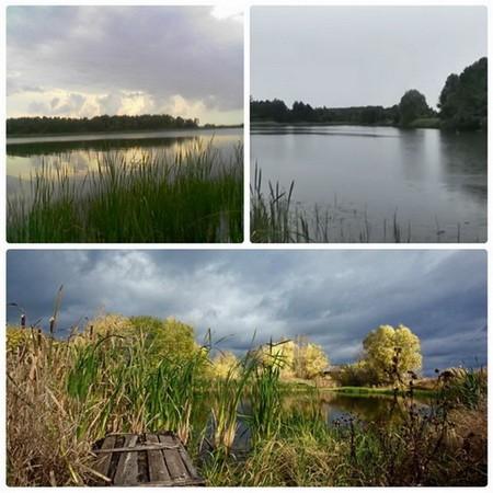 Озеро в селе Драчиха
