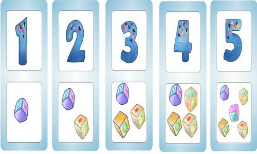 Сколько кубиков на картике