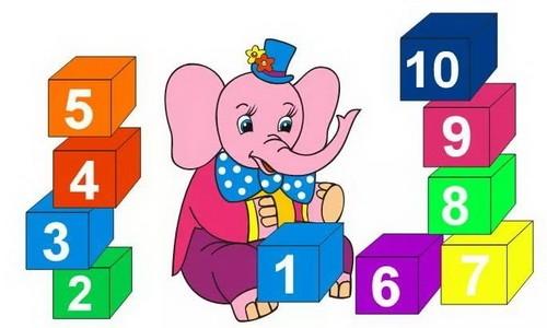 Сколько кубиков у слоненка