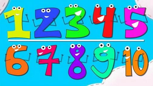 Знакомим детей с цифрами