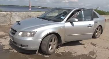 Гаяз-хазрат Закиров на автомобиле