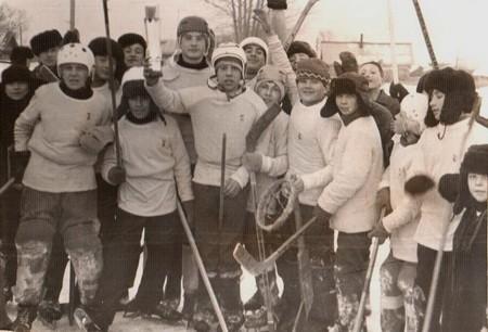 Хоккеисты из с.Уразовка