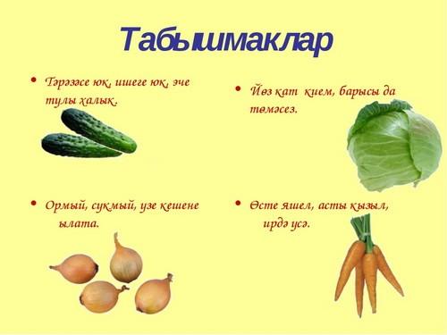 Татарские загадки с картинками