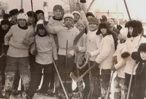 с.Уразовка хоккейная команда