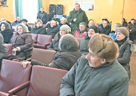 Собрание в с.Андреевка