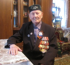 Абдрахман Аляутдинов с.Петряксы юбиляр 100 лет