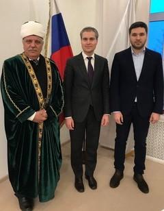 Гаяз хазрат Закиров и Панов Владимир мэр Нижнего Новгорода