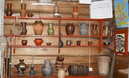 Музей мордовской культуры и быта.экспонаты
