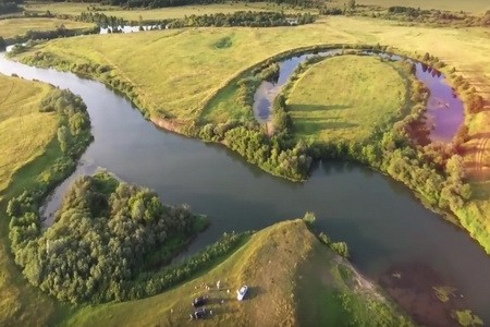 Татары Нижегородской области.Река Пьяна