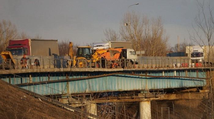 М-7 ремонт моста на реке Кудьма