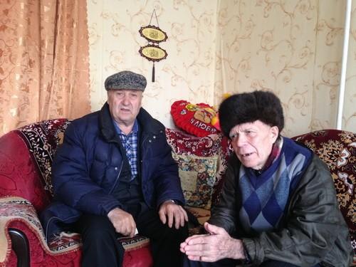 Почетный имам РОМ с.Шубино Гаяр хазрат Мустафин и Афият Фейзрахманов