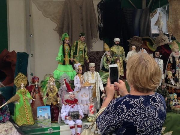 Сабантуй 2018 в Коломенском.Татарские народные изделия