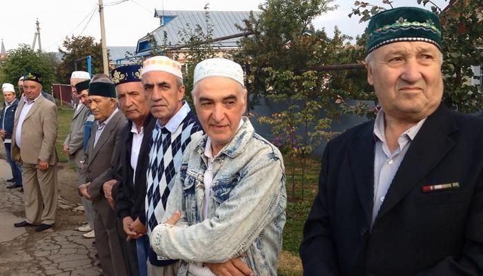 Курбан-Байрам с.Шубино жители тубян оч