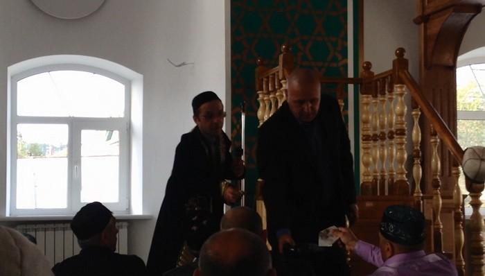 сбор денежных средств в мечети с.Шубино