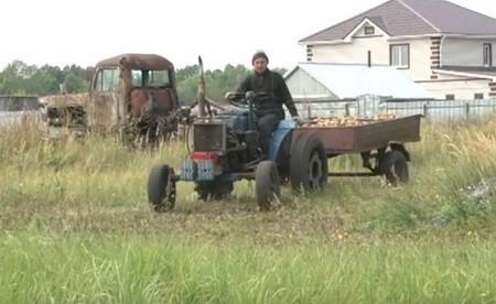 Рустам Мангушев фермер с.Камкино