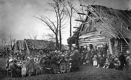 крестьяне в Нижегородской губернии