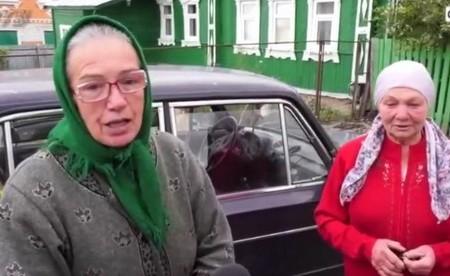 Венера Хайрулина и Разия Каримова село Шубино
