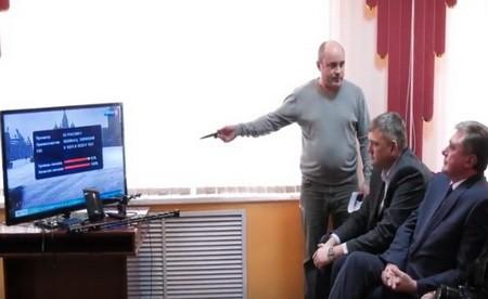 Олег Радаев Глава администрации Сергачского района о подключении цифрового ТВ