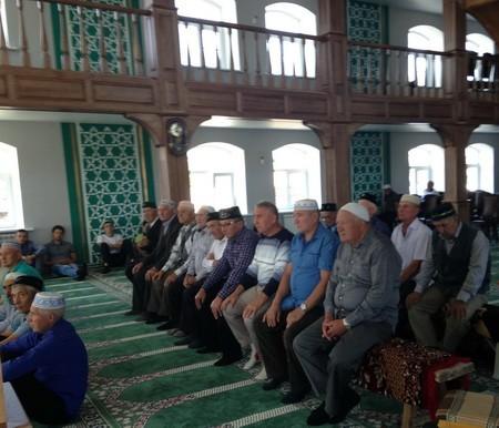 Село Шубино мечеть после ремонта 2019.