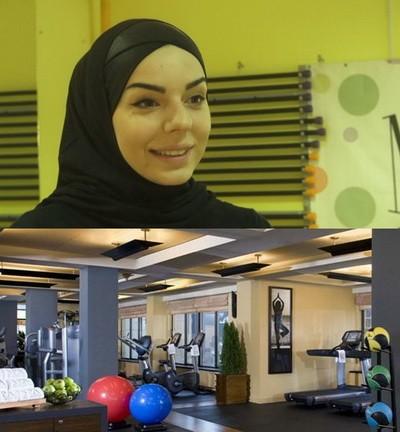 Фитнес центр для мусульманок