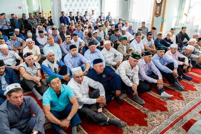 село Пошатово в мечети 04.06.2019