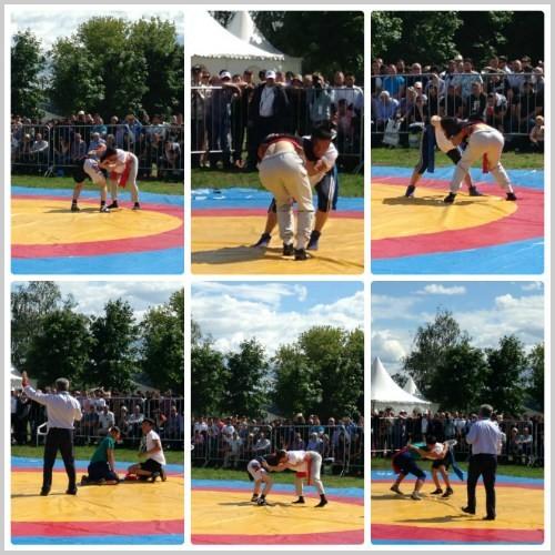 Сабантуй-2019.Татарска борьба на поясах